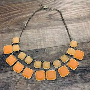 Layered Chunky Tiled Necklace